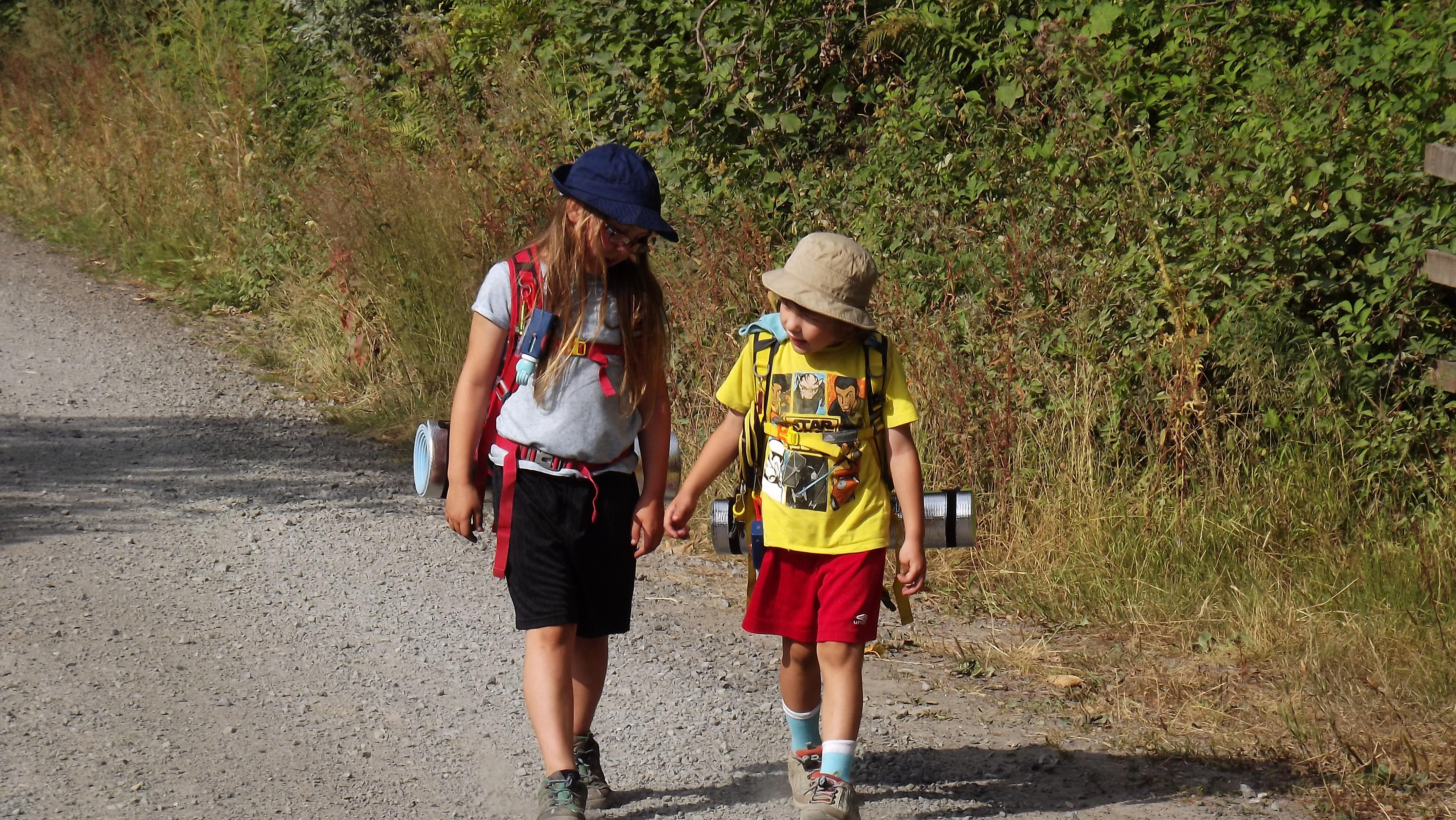 Happy Hiking Kids