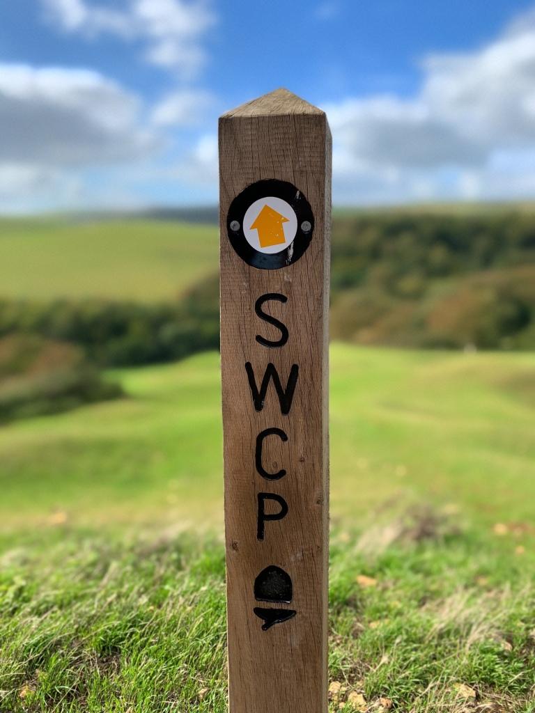 SWCP Waymarker Post